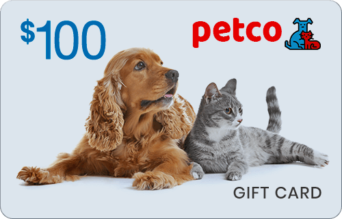 $100 Petco Gift Card